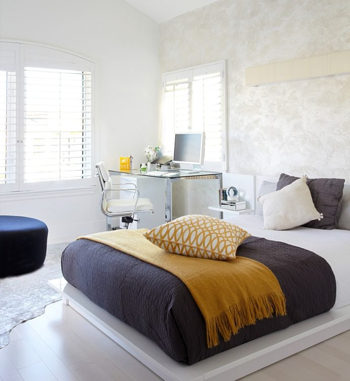 Mix Color Bedroom Office Combo