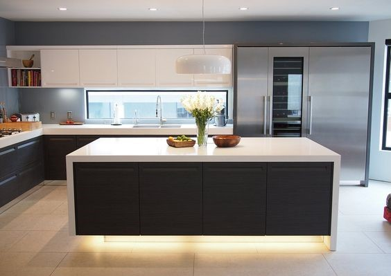ultra modern kitchen island