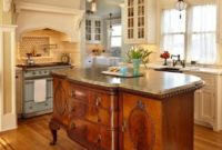 vintage sideboard kitchen island