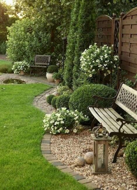 Classic Vintage Garden Landscaping