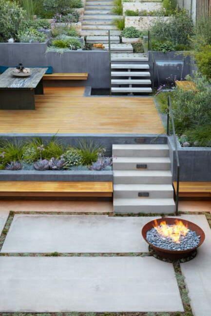 Urban Modern Garden Landscape Ideas