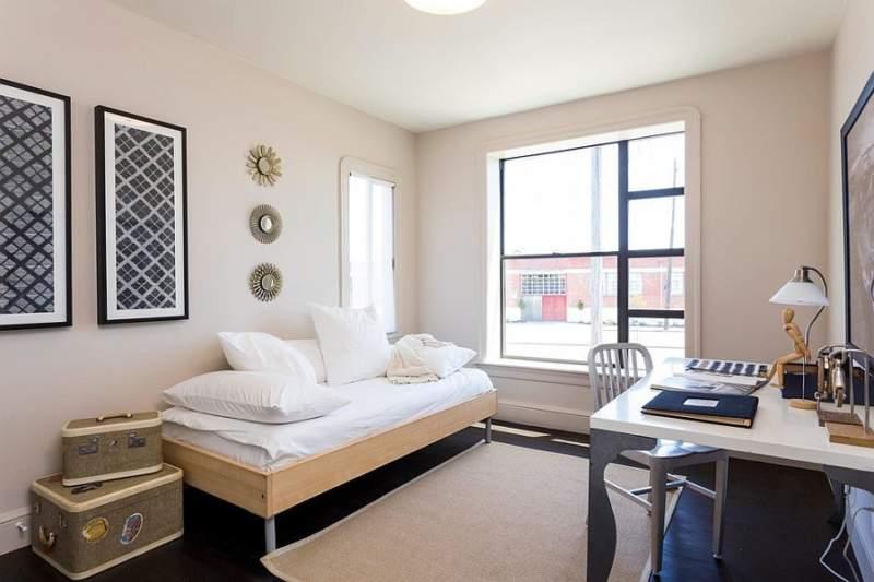 Art Deco Bedroom Office Combos