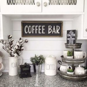 chic coffee bar ideas