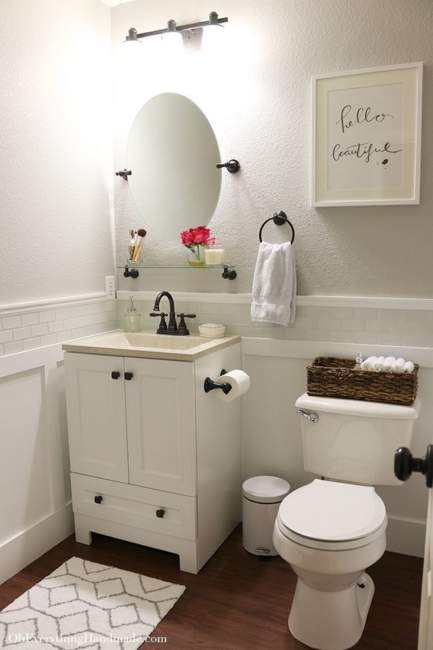 classic basement bathroom ideas