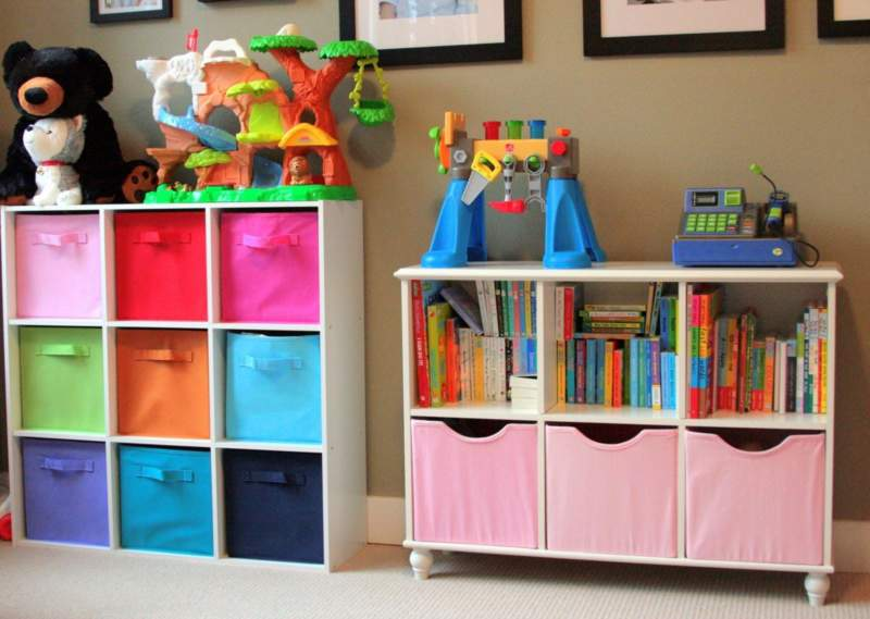 Classic Kids Room Storage Ideas