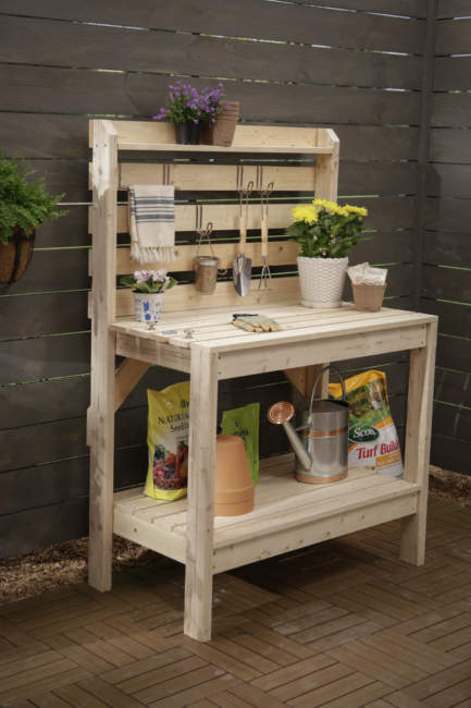 Classic Potting Bench Ideas