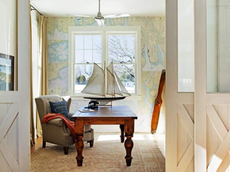 coastal diy home office design ideas