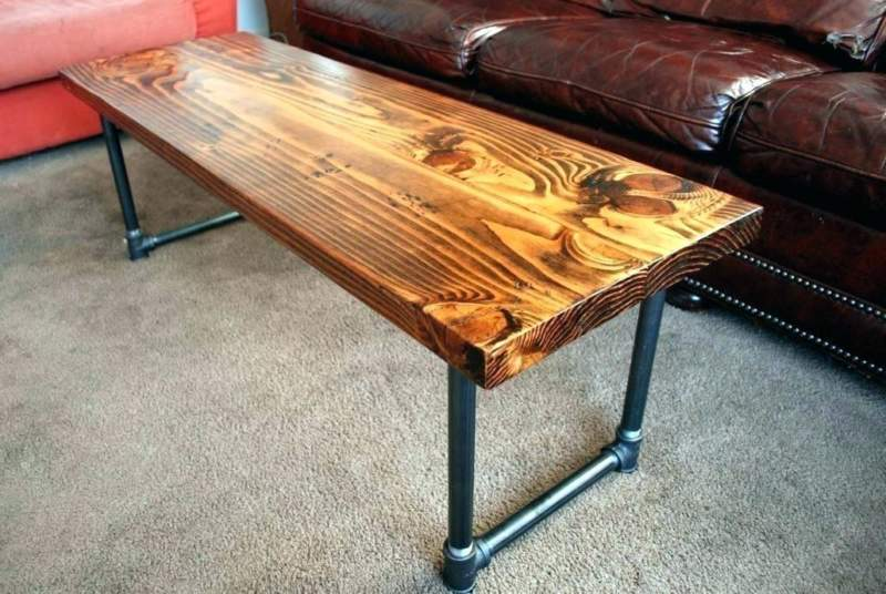 Coastal Pipe Table Ideas