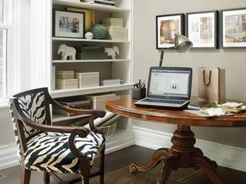 contemporary diy home office design ideas