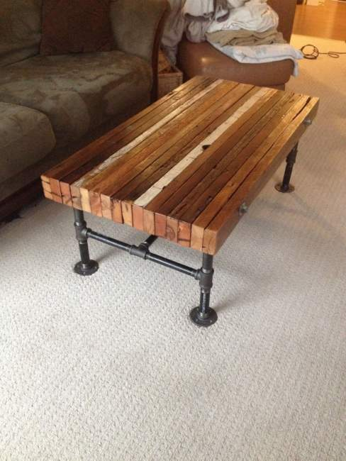 Contemporary Pipe Table Ideas