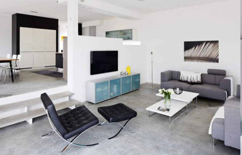 Contemporary Simple Apartment Decor