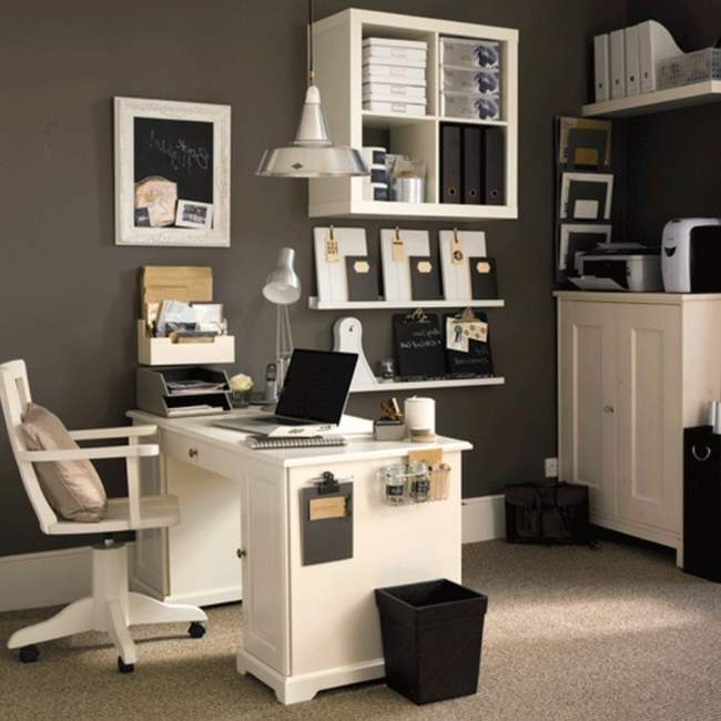 cottage diy home office design ideas
