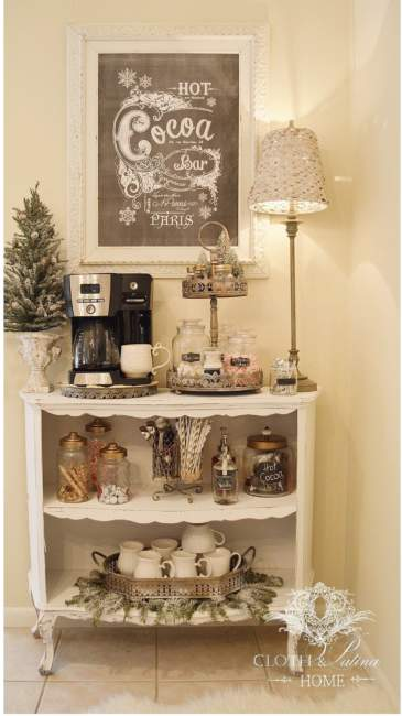 country coffee bar ideas