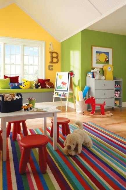 Craftsman Kids Room Storage Ideas