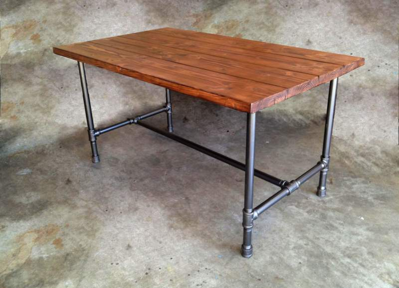 25 Awesome Diy Pipe Table Ideas And Pipe Desk Ideas And