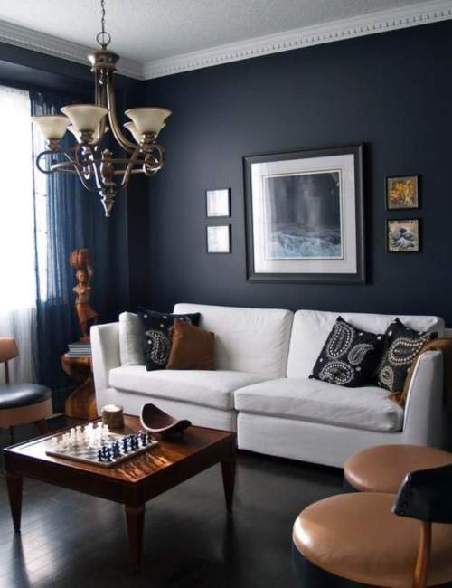 Dark Simple Apartment Decor