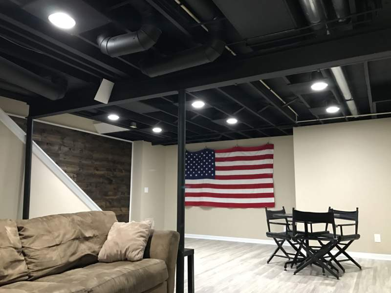 Dark Unfinished Basement Ideas