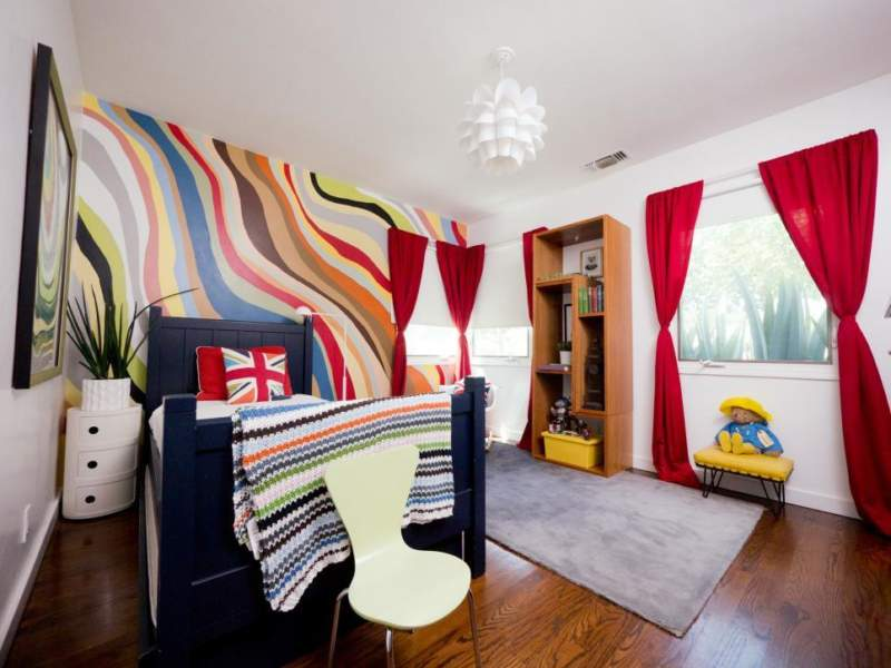 eclectic boys bedroom ideas