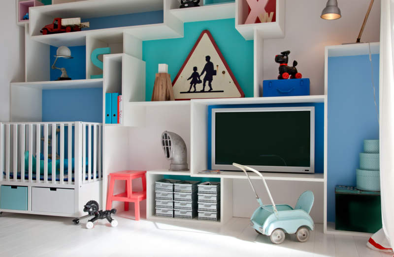 Elegant Kids Room Storage Ideas