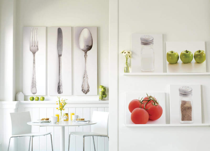 Elegant Kitchen Wall Decor