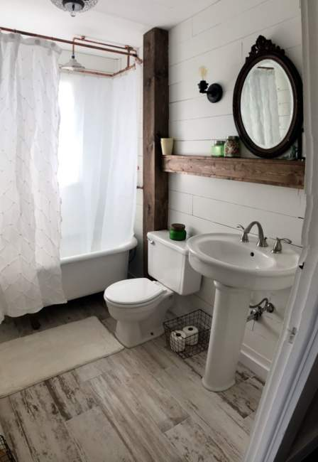 farmhouse basement bathroom ideas