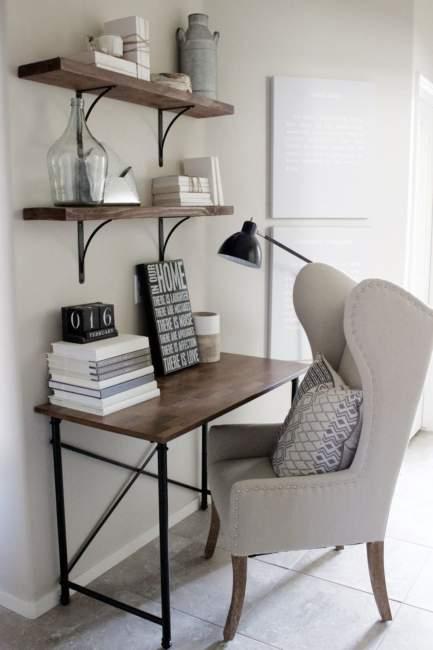 farmhouse diy home office design ideas