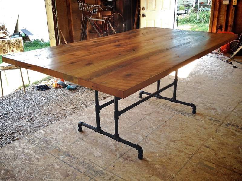 Farmhouse Pipe Table Ideas