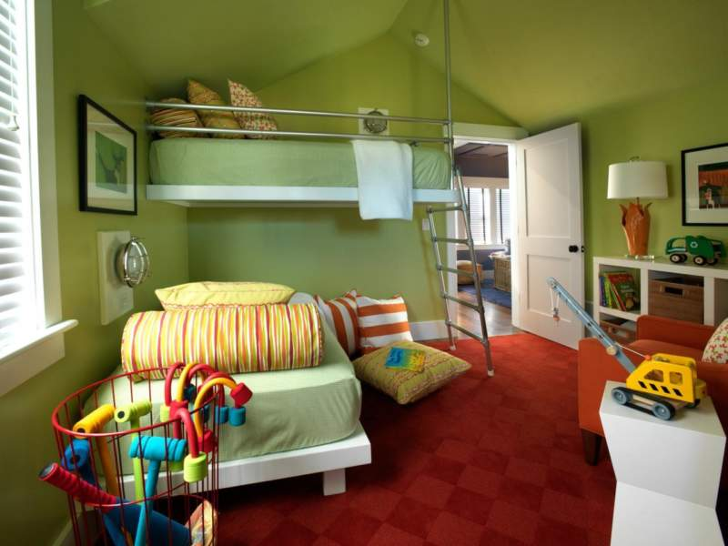 Green Boys Bedroom Ideas