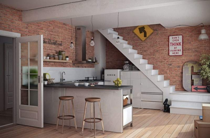 Industrial Kitchen Wall Decor