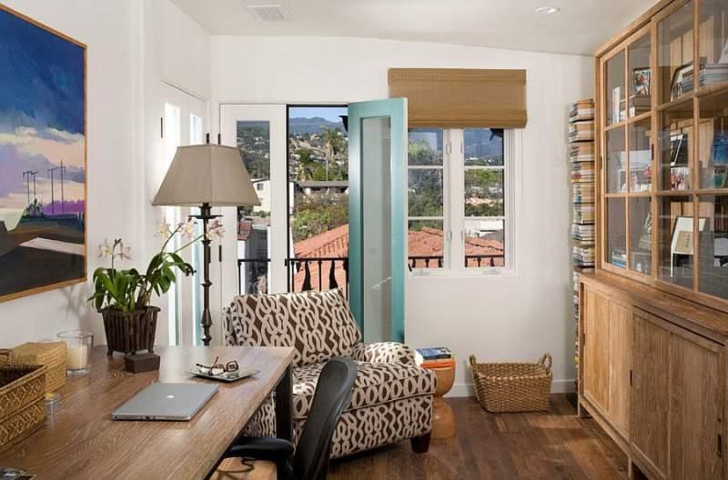 mediterranean diy home office design ideas