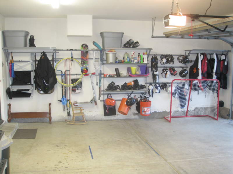 Mid Century Garage Storage Ideas