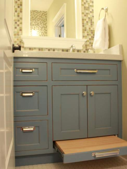 Mid Century Savvy Bathroom Storage Ideas