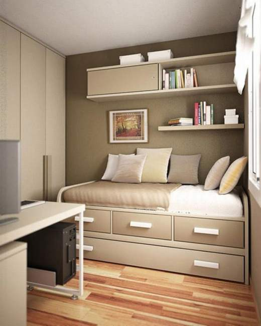 mini bedroom office combos