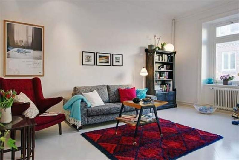 25+ Cozy Apartment Decorating on Budget for Small ...