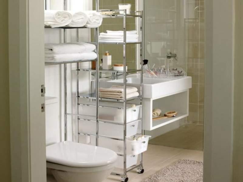 Minimalist Savvy Bathroom Storage Ideas