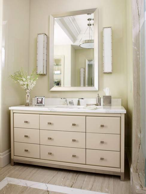 Modern Chic Savvy Bathroom Storage Ideas
