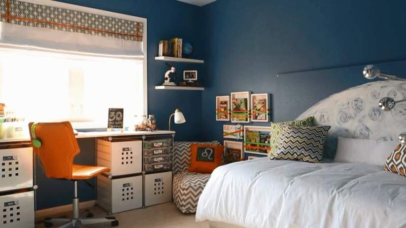 multi color boys bedroom ideas