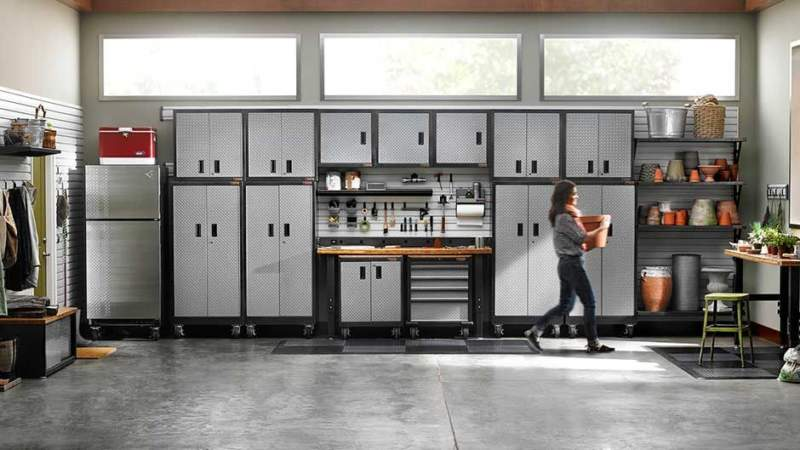 Natural Garage Storage Ideas