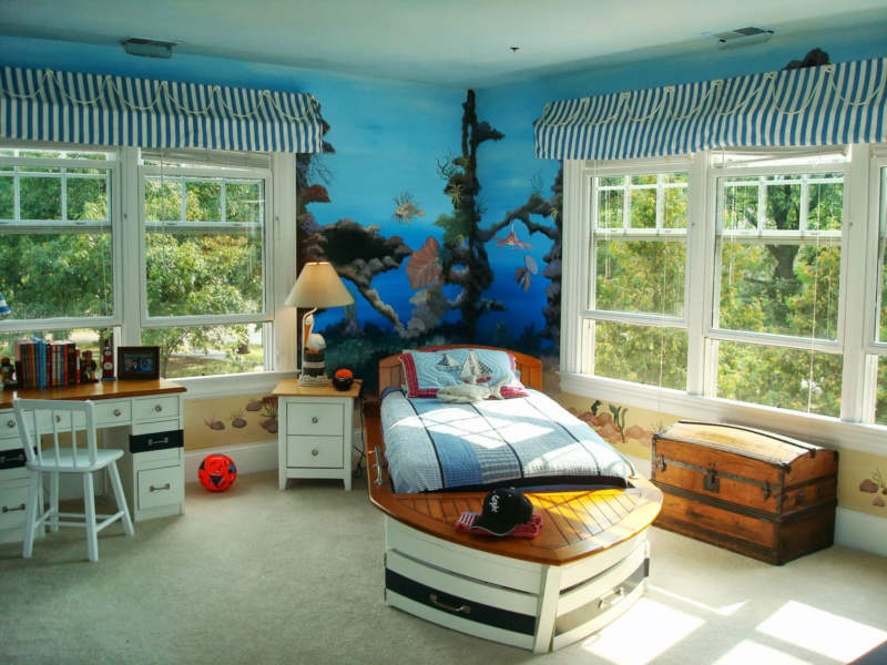 natural light boys bedroom ideas