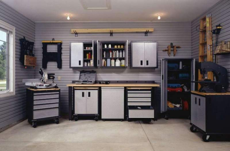 Natural Light Garage Storage Ideas