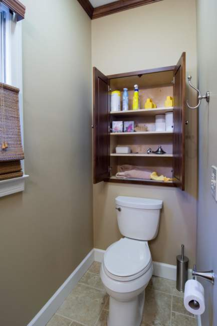 Natural Light Savvy Bathroom Storage Ideas