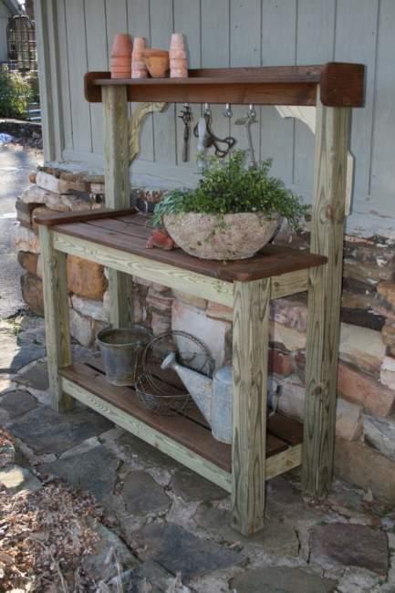 20+ DIY Potting Bench Ideas You Should Copy The Design ...