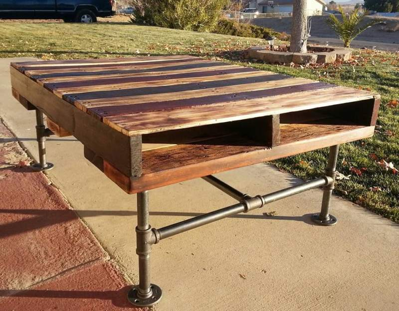Pallet Pipe Table Ideas