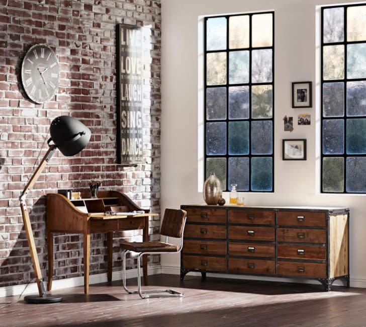 retro diy home office design ideas