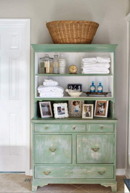 Rustic Savvy Bathroom Storage Ideas