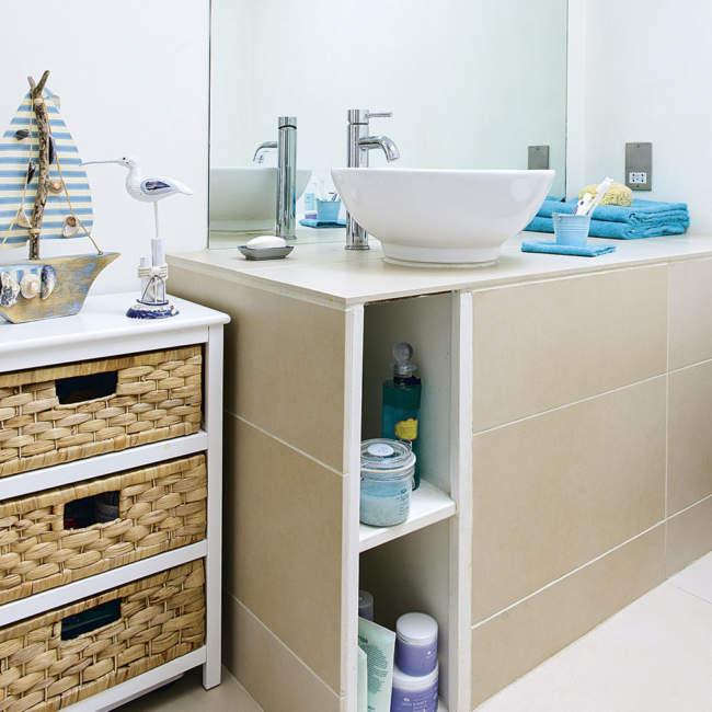 Scandinavian Savvy Bathroom Storage Ideas