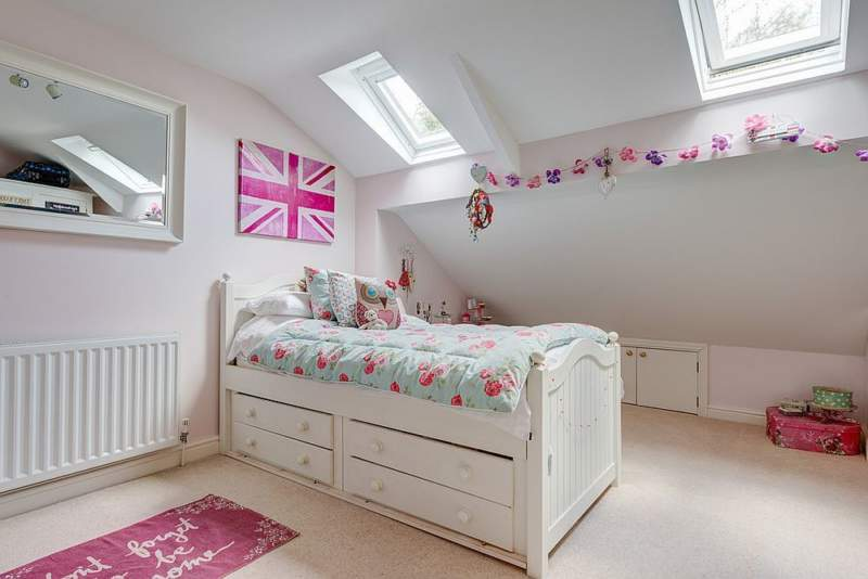 Shabby Chic Kids Room Storage Ideas