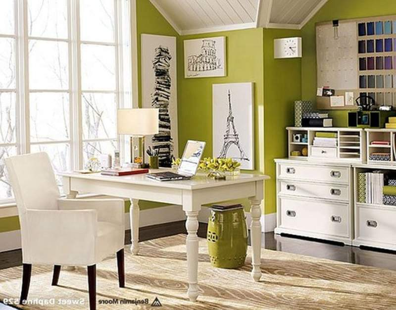 traditional diy home office design ideas