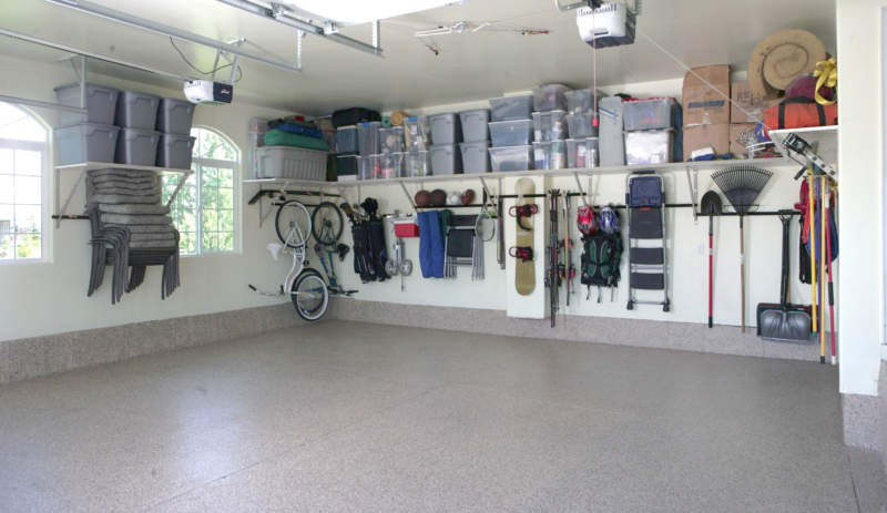 Traditional Garage Storage Ideas