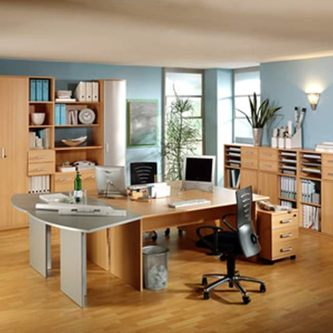 tropical diy home office design ideas